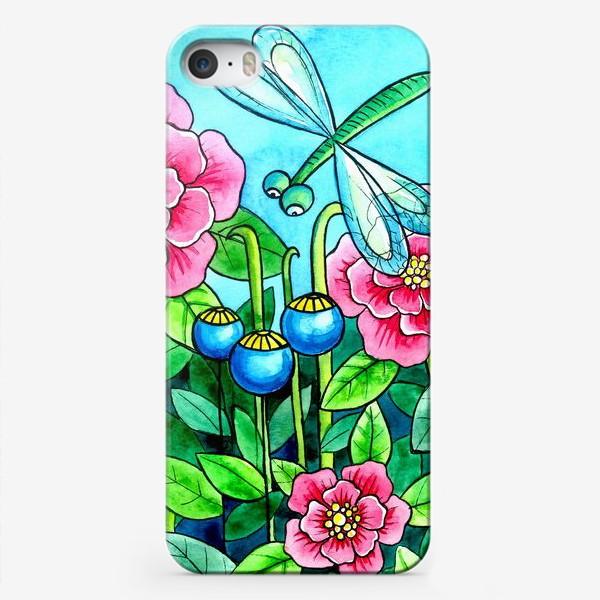 Чехол iPhone «Цветочное настроение»