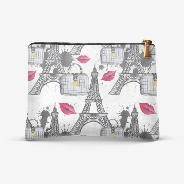 Косметичка «Paris Pattern»