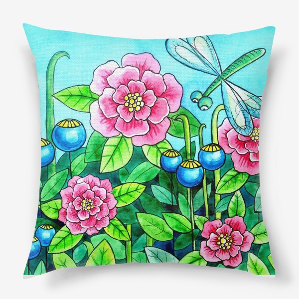 Подушка «Цветочное настроение»