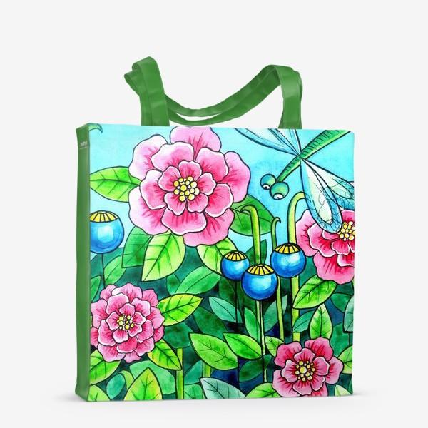 Сумка-шоппер «Цветочное настроение»
