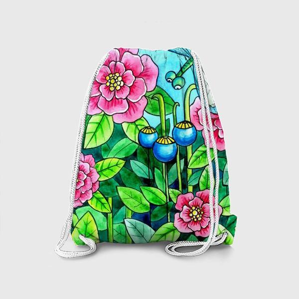 Рюкзак «Цветочное настроение»