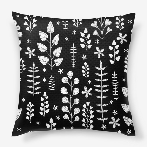 Подушка «Растительный орнамент»