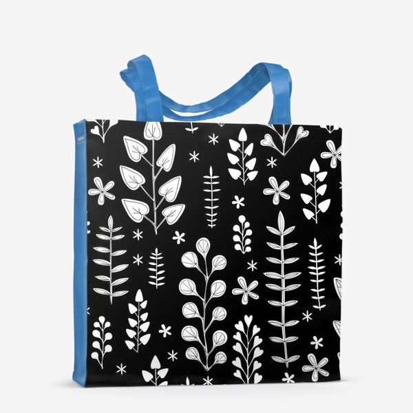 Сумка-шоппер «Растительный орнамент»