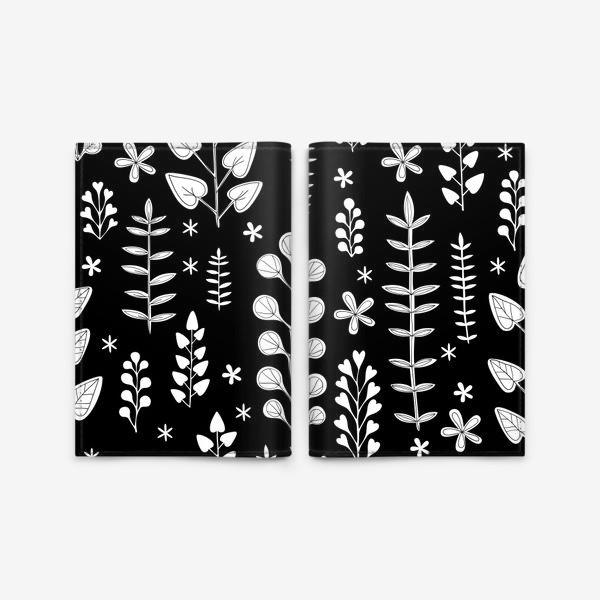 Обложка для паспорта «Растительный орнамент»