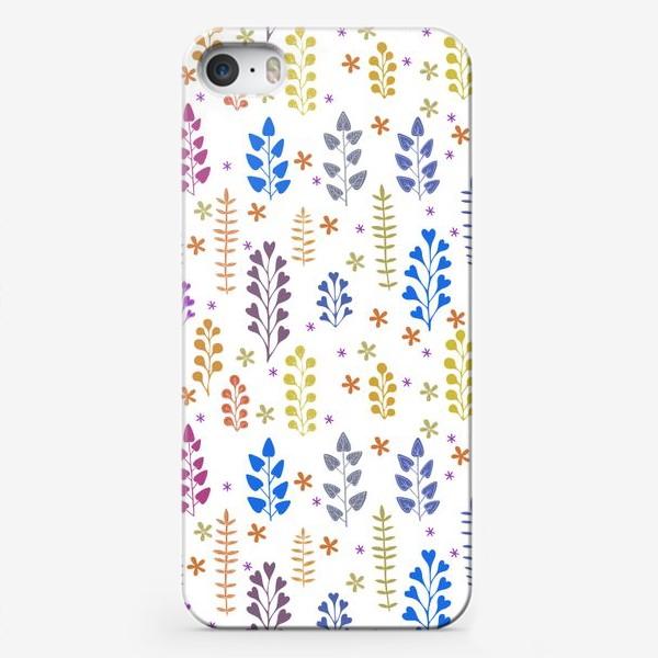 Чехол iPhone «Растительный орнамент»