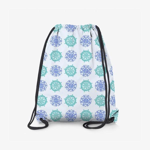 Рюкзак «Голубые снежинки»