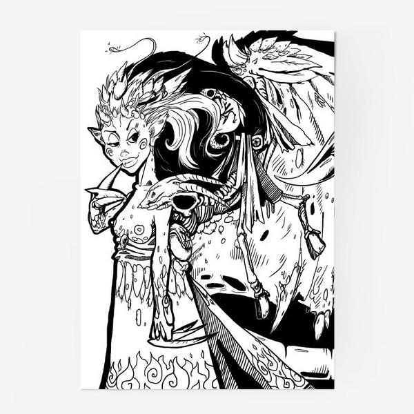 Постер «Маленькая хитрая Дьяволица»