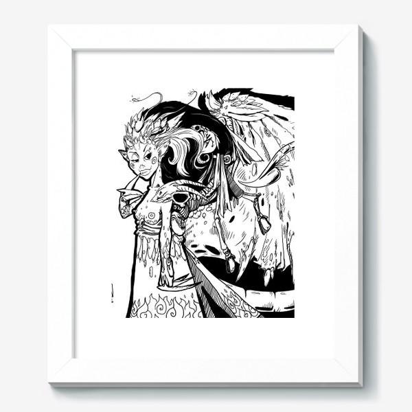 Картина «Маленькая хитрая Дьяволица»