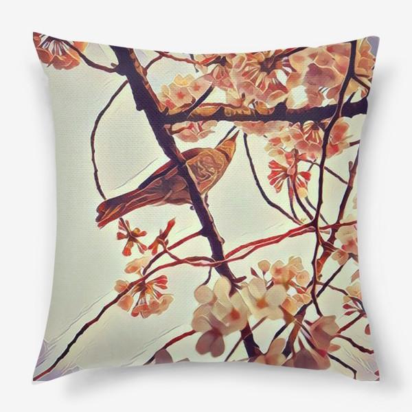 Подушка «Весна в Уэно»
