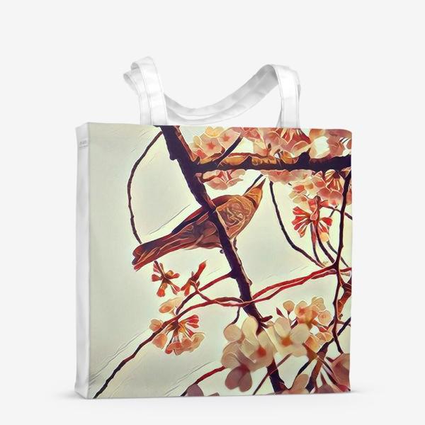 Сумка-шоппер «Весна в Уэно»