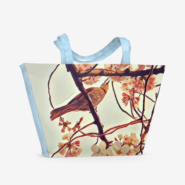 Пляжная сумка «Весна в Уэно»