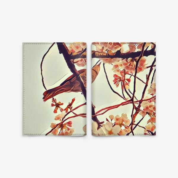 Обложка для паспорта «Весна в Уэно»