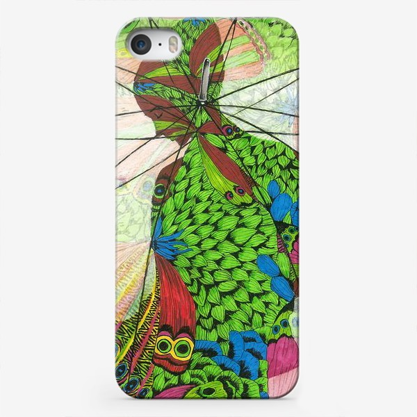 Чехол iPhone «Флора 4.0 Под защитой»