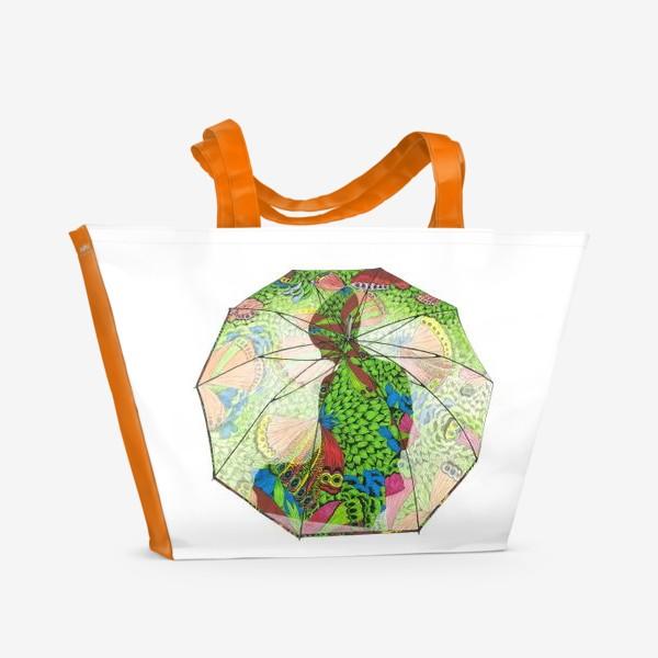 Пляжная сумка «Флора 4.0 Под защитой»