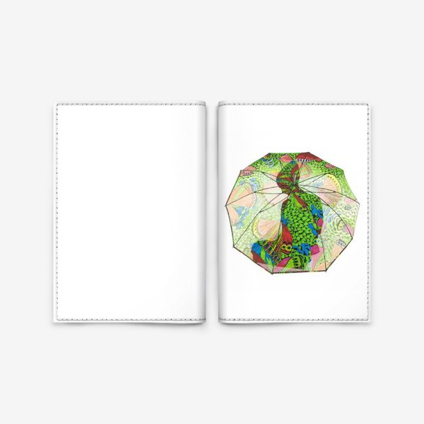 Обложка для паспорта «Флора 4.0 Под защитой»