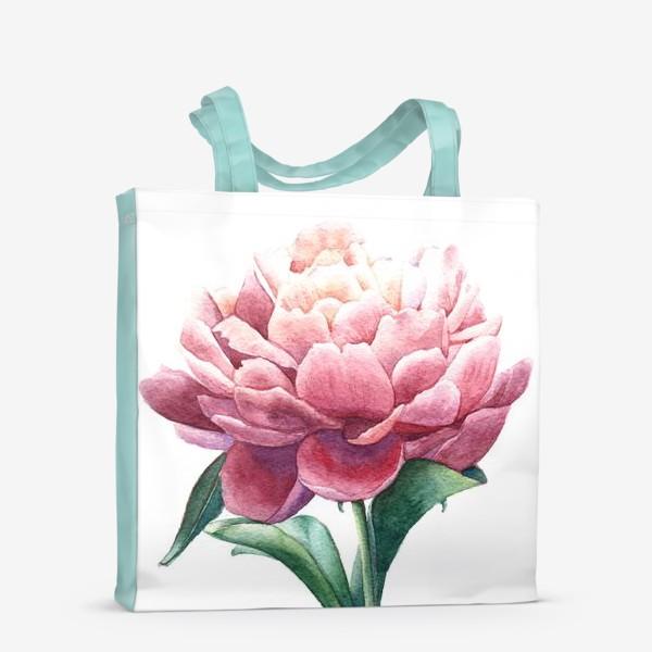 Сумка-шоппер «Розовый пион»