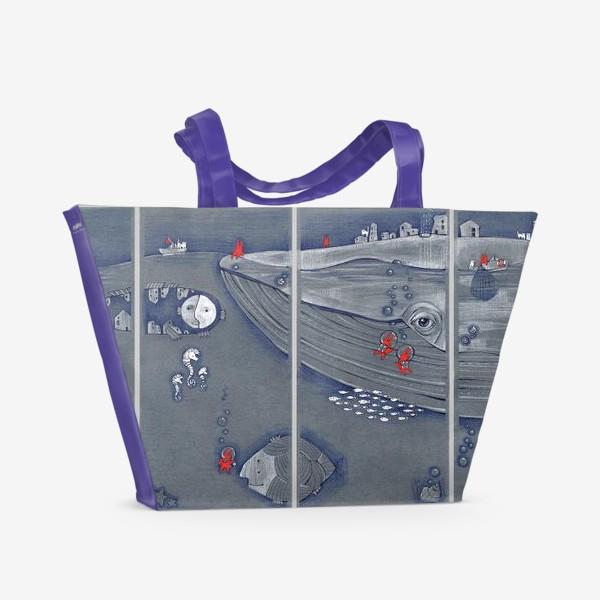 Пляжная сумка «Батискаф (подводный мир)»