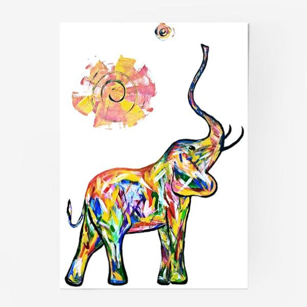Постер «Радость. Слон»