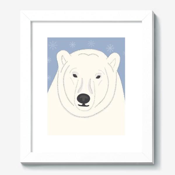 Картина «Белый (полярный, северный) медведь»