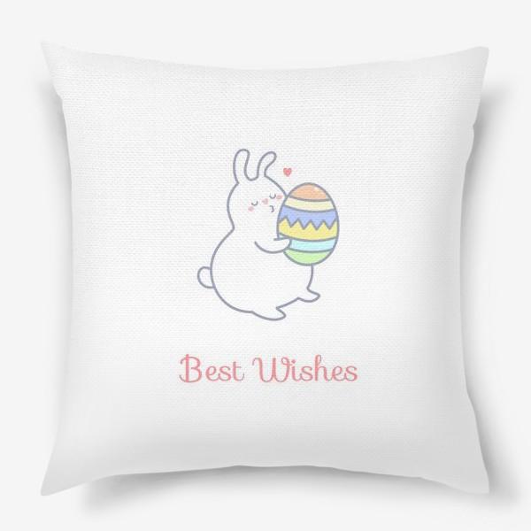Подушка «Пасхальный кролик»