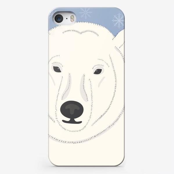 Чехол iPhone «Белый (полярный, северный) медведь»