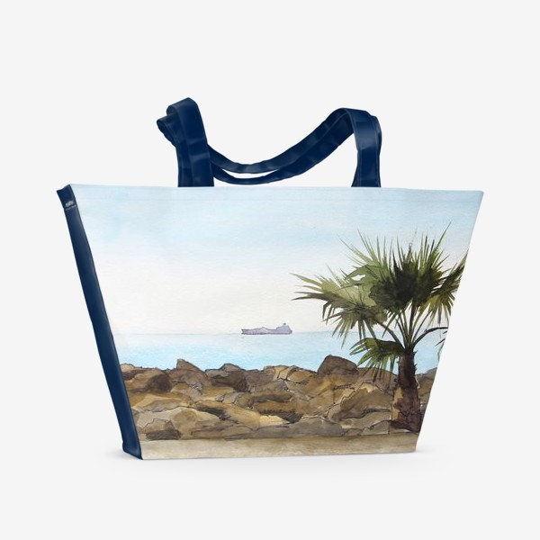 Пляжная сумка «Морская даль»