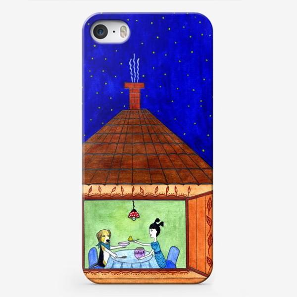 Чехол iPhone «Каша»