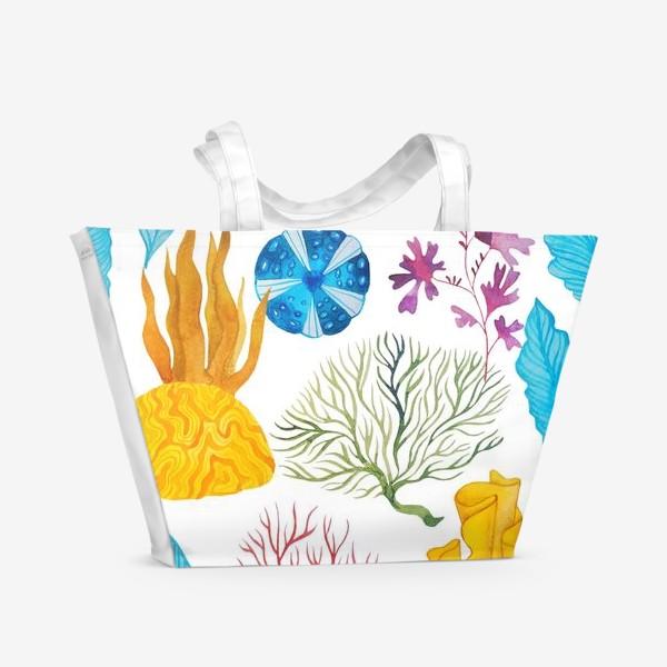 Пляжная сумка «Кораллы»