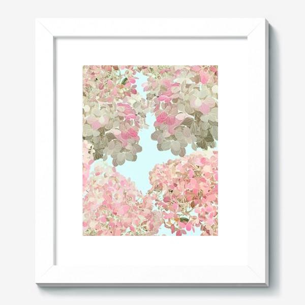 Картина «hydrangea»