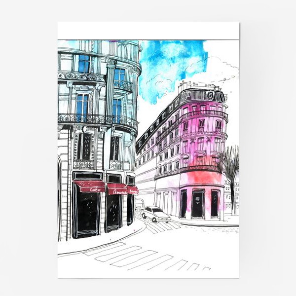 Постер «Париж»