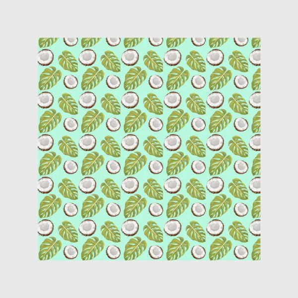 Шторы «Кокосы  и листья»