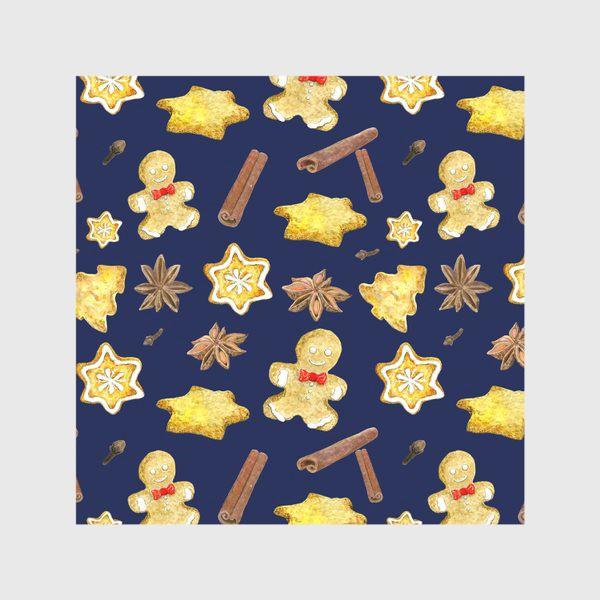 Скатерть «Новогодние сладости с пряностями »