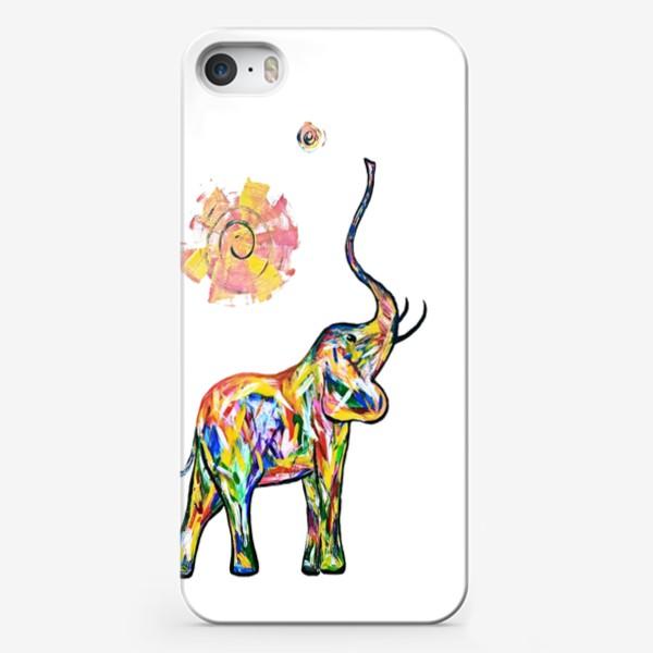 Чехол iPhone «Радость. Слон»
