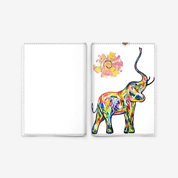 Обложка для паспорта «Радость. Слон»