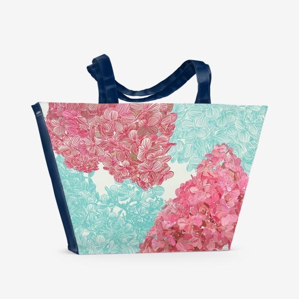 Пляжная сумка «pink diamond»