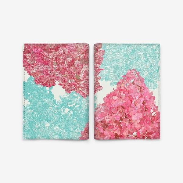 Обложка для паспорта «pink diamond»