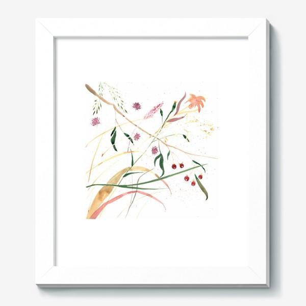 Картина «Абстрактный цветочный орнамент»