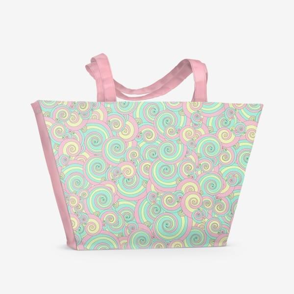Пляжная сумка «Сны единорога»
