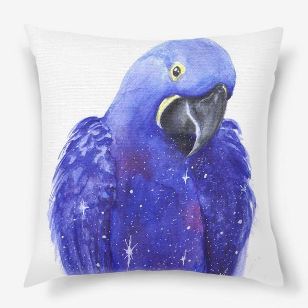 Подушка «Космический попугай»