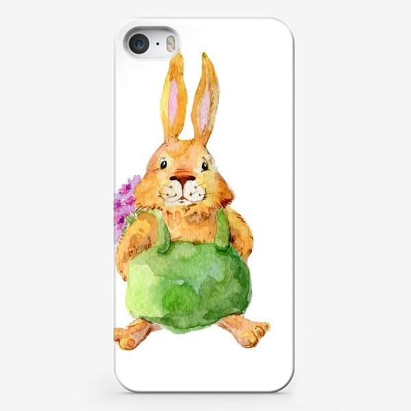 Чехол iPhone «Зайчик»