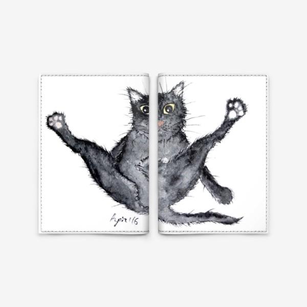 Обложка для паспорта «Лапки вверх!»