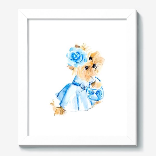 Картина «Йорк в голубом платье»