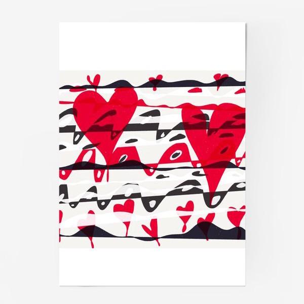 Постер «st Valentine's»