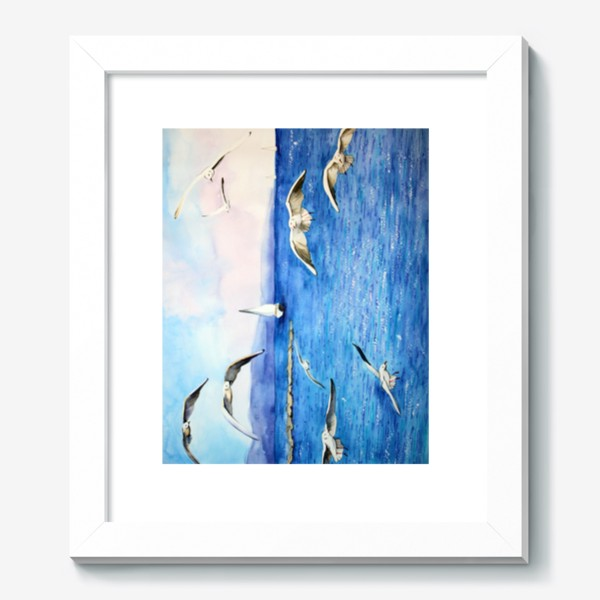 Картина «Морские чайки»