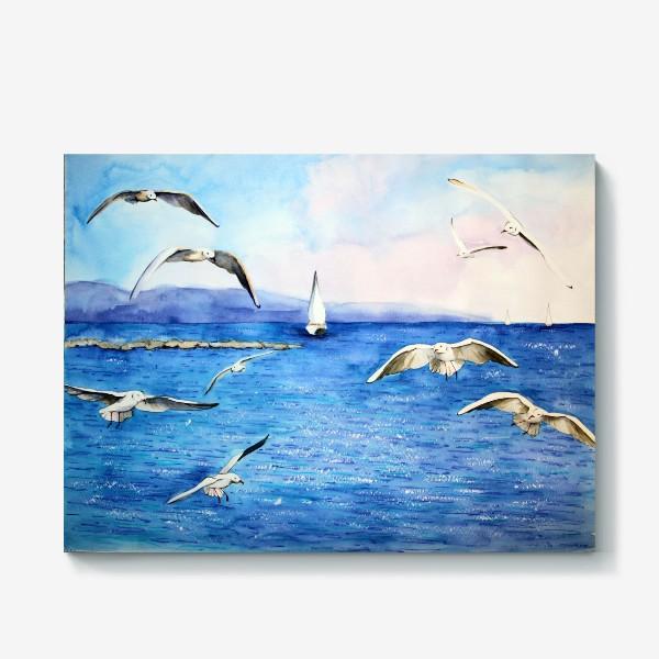 Холст «Морские чайки»