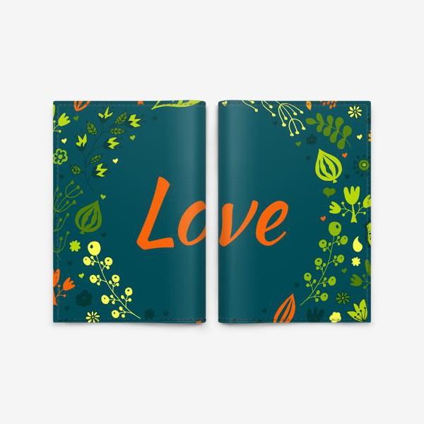 Обложка для паспорта «Валентинка с любовью»