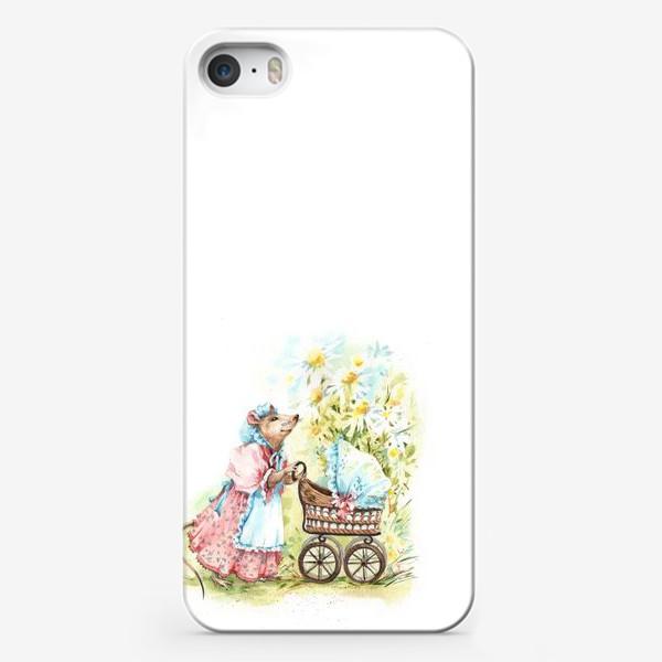 Чехол iPhone «Мышка мама»