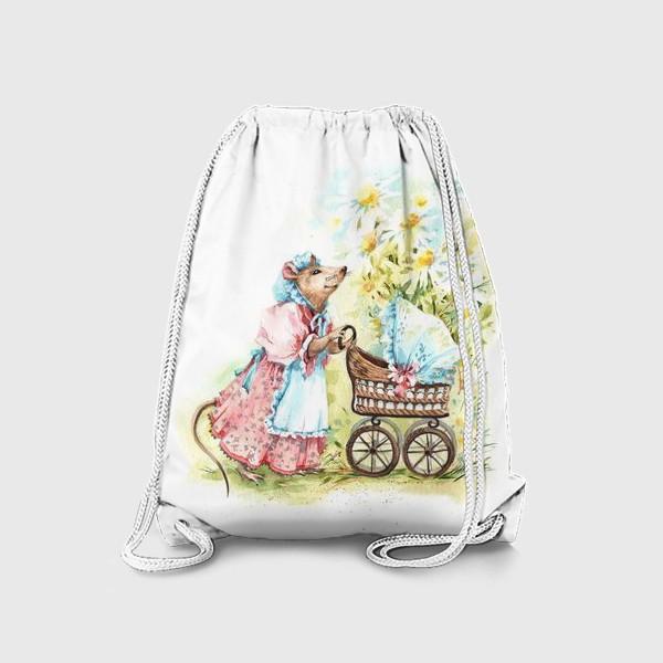 Рюкзак «Мышка мама»