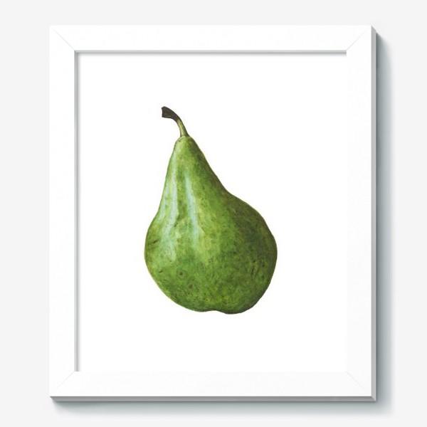 Картина «Зеленая груша»