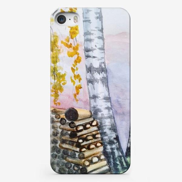 Чехол iPhone «Береза»